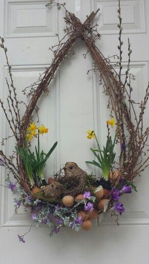 Photo of Natural Easter wreath