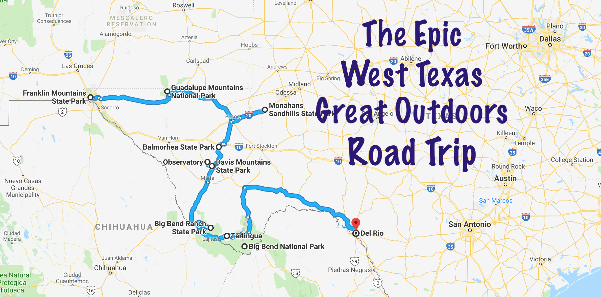 Take This Epic Road Trip To Experience Texas Great Outdoors Trip Road Trip College Road Trip