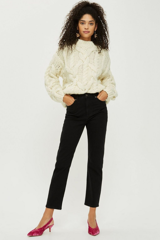 426645c276158 MOTO Black Straight Leg Jeans - Jeans - Clothing - Topshop USA