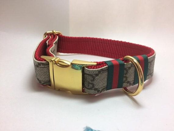Gucci Dog Collar and Leash 160, Collar only 65, Leash Only