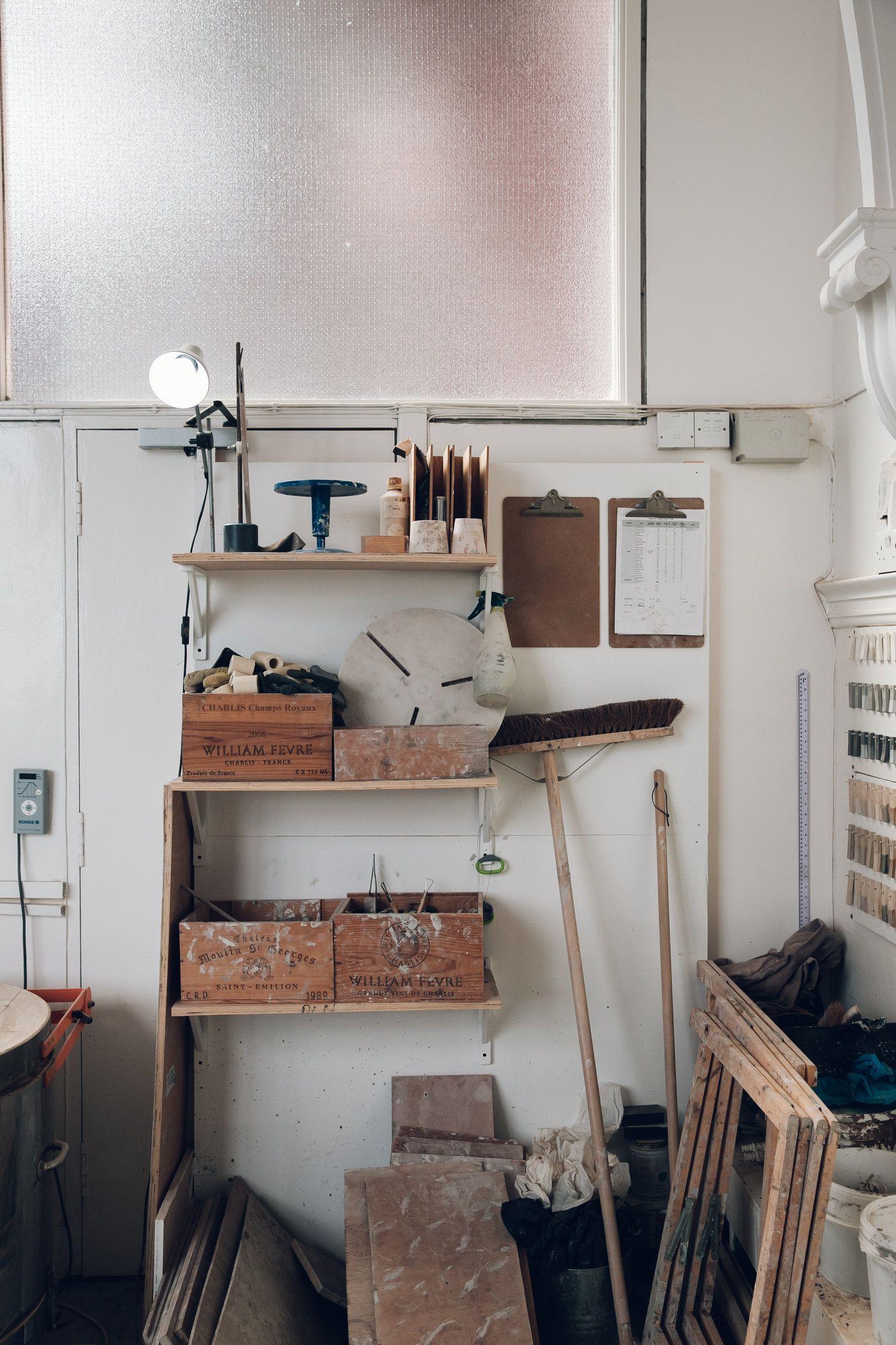 Inside the Glasgow studio of ceramicist Jono