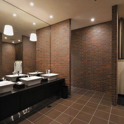 Commercial Bathroom Design Ideas Pictures Remodel And Decor Restroom Design Bathroom Design Small Commercial Bathroom Designs