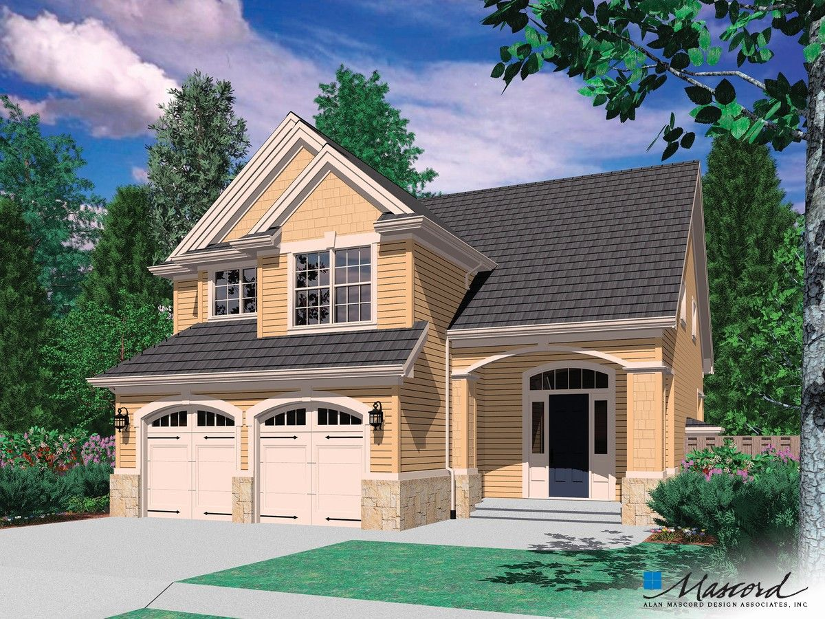Traditional Plan With Porch Off Great Room Plan 2154f The Corbett Is A 1500 Sqft Craftsman Style H Narrow Lot House Plans Cottage House Plans Narrow Lot House