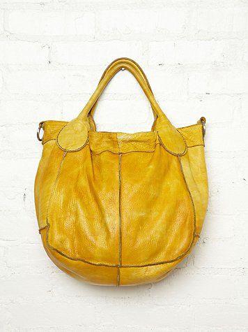 Lina Citroengeel ToteAlways YellowTassen En Leather Aj4L5R