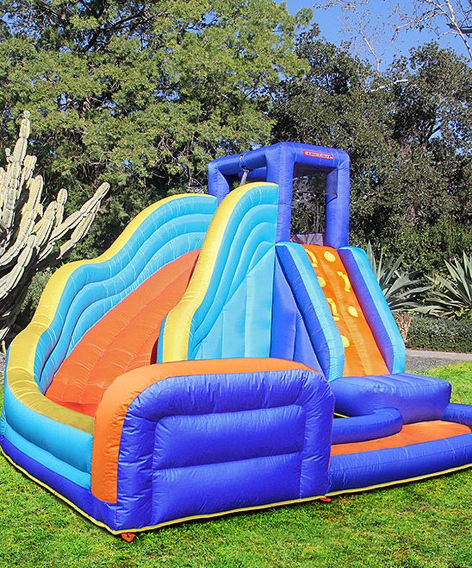 sportspower big wave inflatable water slide big waves water