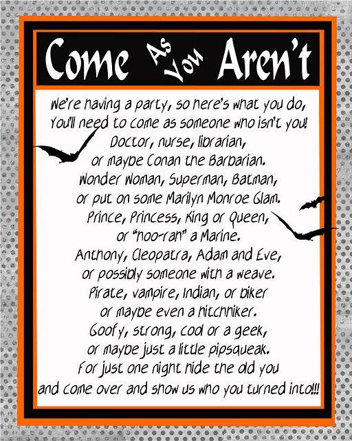 free printable halloween invite from chaos gloss chaosandgloss
