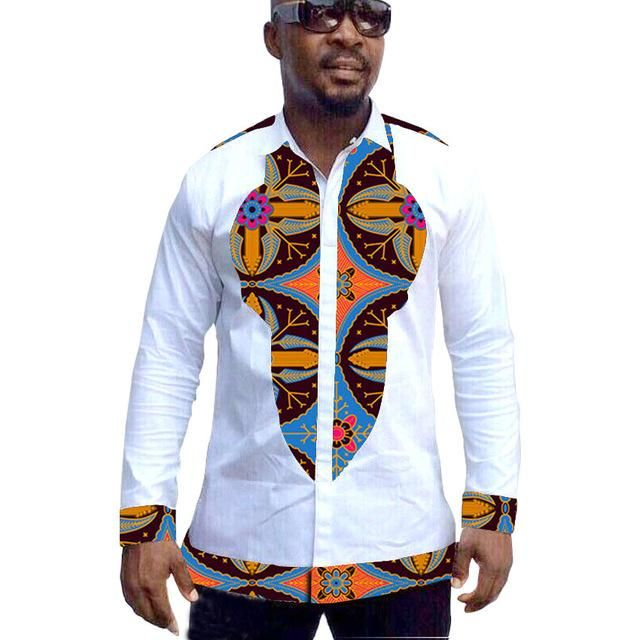 d636bd3ecc African print men dashiki shirts, custom African men long sleeve ...