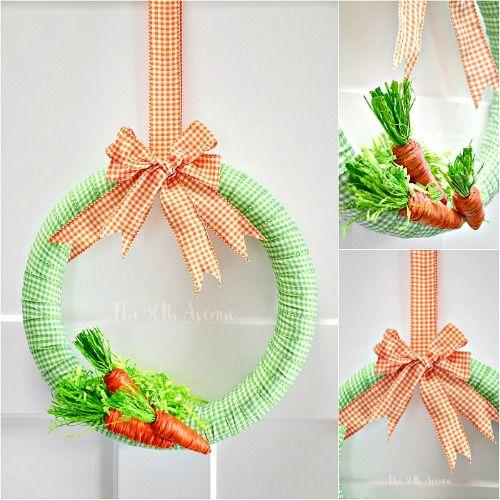 Wreath Tutorial - Easter Decor - The 36th AVENUE