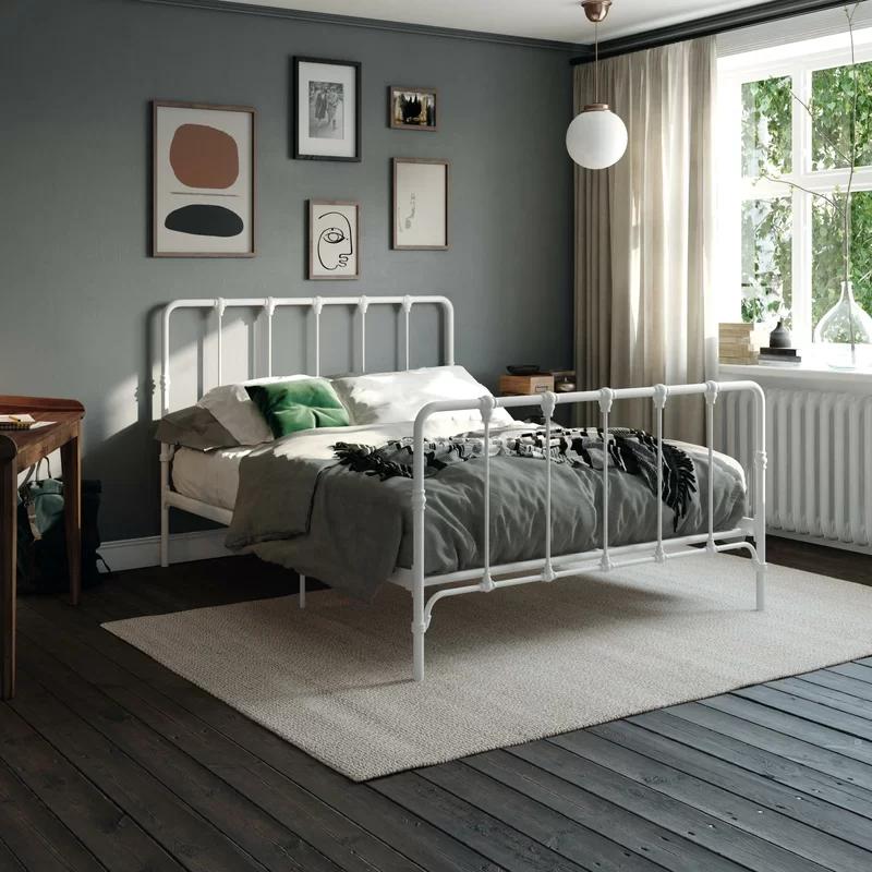 15+ Viviana farmhouse metal platform bed info