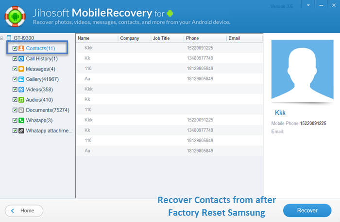 how to delete deleted photos samsung galaxy mini s3