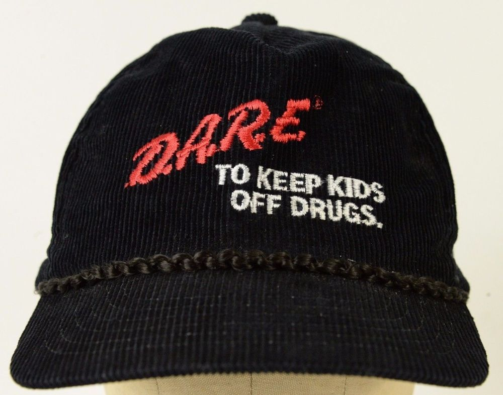 Unisex Knit Caps Dare To Keep Kids Off Drugs Beanie Hats