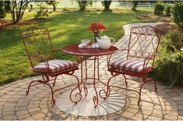 Red Shed Lawn Furniture Traditional Patio Furniture And