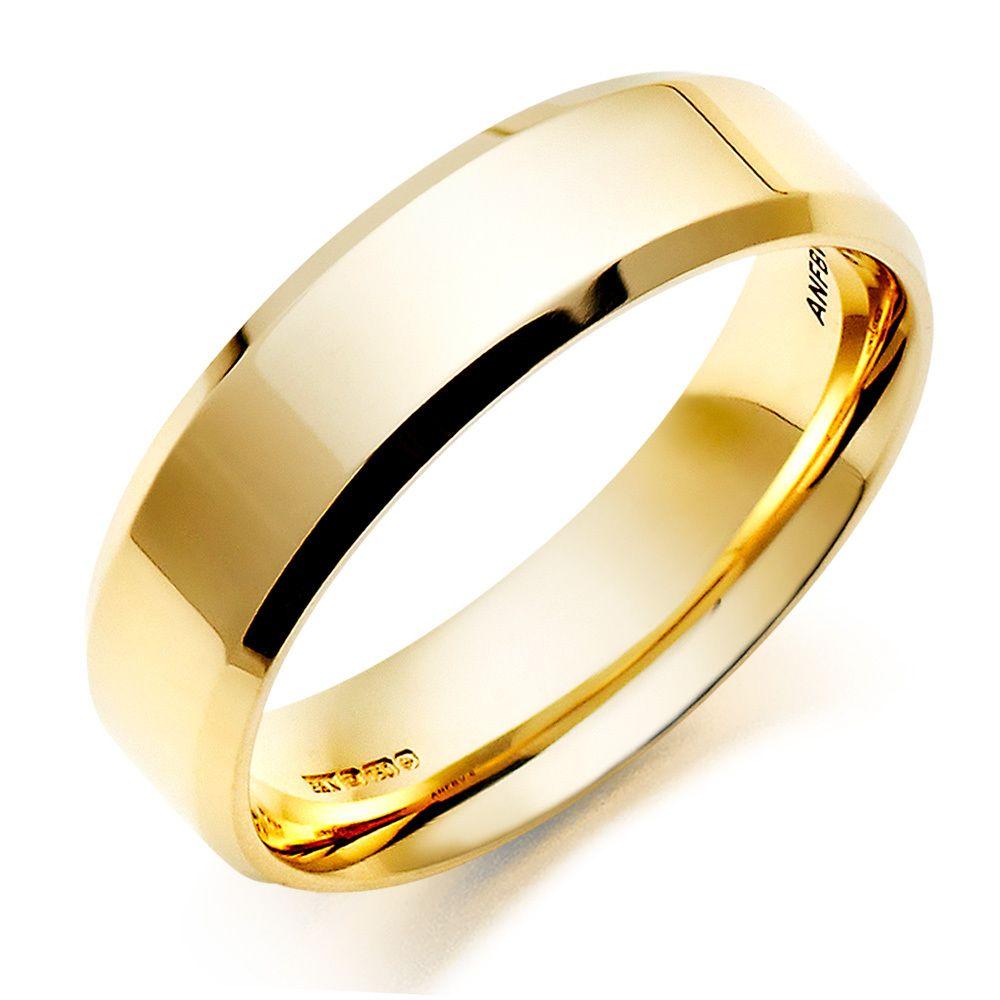 Plain Gold Rings For Men Diamondstud Mens Wedding Rings Gold Wedding Rings Mens Rings Wedding Diamond
