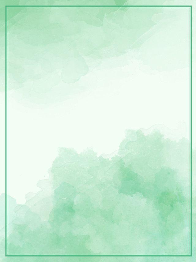 Efeito De Tinta Aquarela Gradiente Verde Fundo Poster Background Design Art Background Paint Background