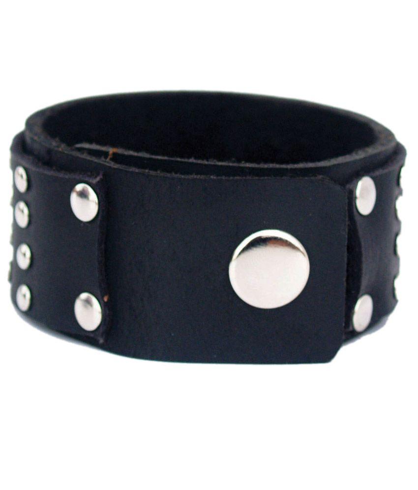Leather Bracelets For Men Wristbands Mens Hand Band Wrist Bands