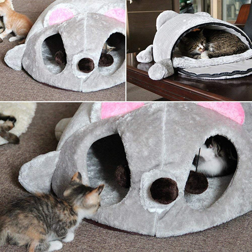 Pet Cat House Removable Foldable Mouse Shaped Mini Cat Nest Winter Warm Keeping House For Small Cats Dogs More Info Could Cat Tree Condo Cat Bed Cat House