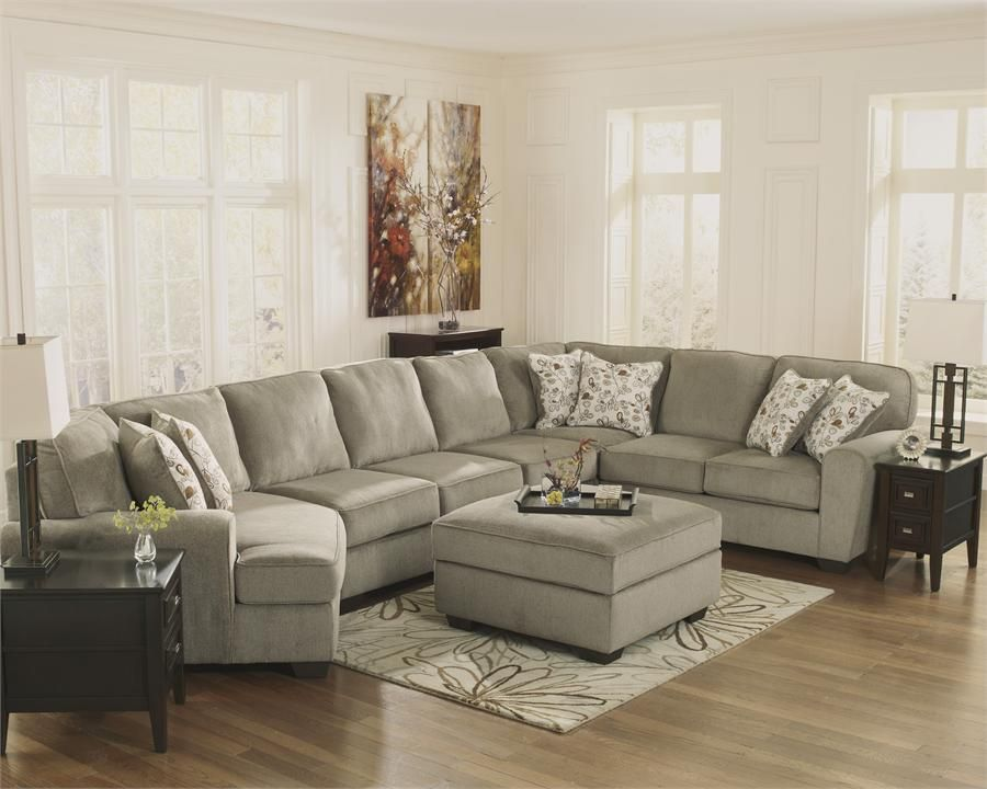 Patola Park Patina Cuddler Sectional By Ashley Furniture