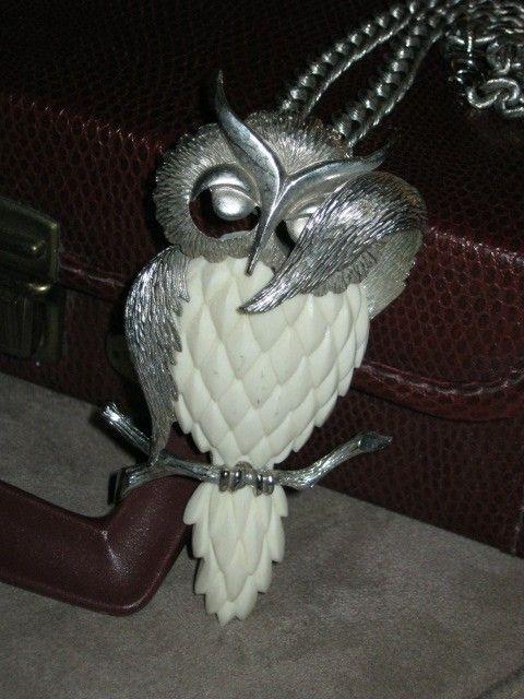 Beautiful owl pendant