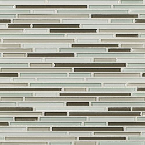 Artistic Tile | Opera Glass Collection; Serenade Gloss Harmonic Lines #glass #tile #mosaic
