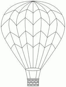 dco de porte voyage vers limaginaire balloon templatehot air