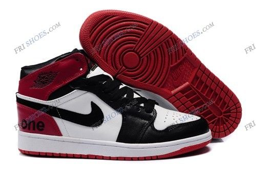 save off 0e0be 07c73 Nike Air Jordan 1 High Cut Black Red White Mens basketball shoes cheapest nike  shoes Regular Price   195.00 Special Price  95.85 Free Shipping with DHL or  ...