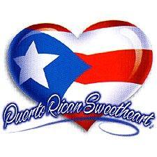 Puerto Rico Heart Tattoos