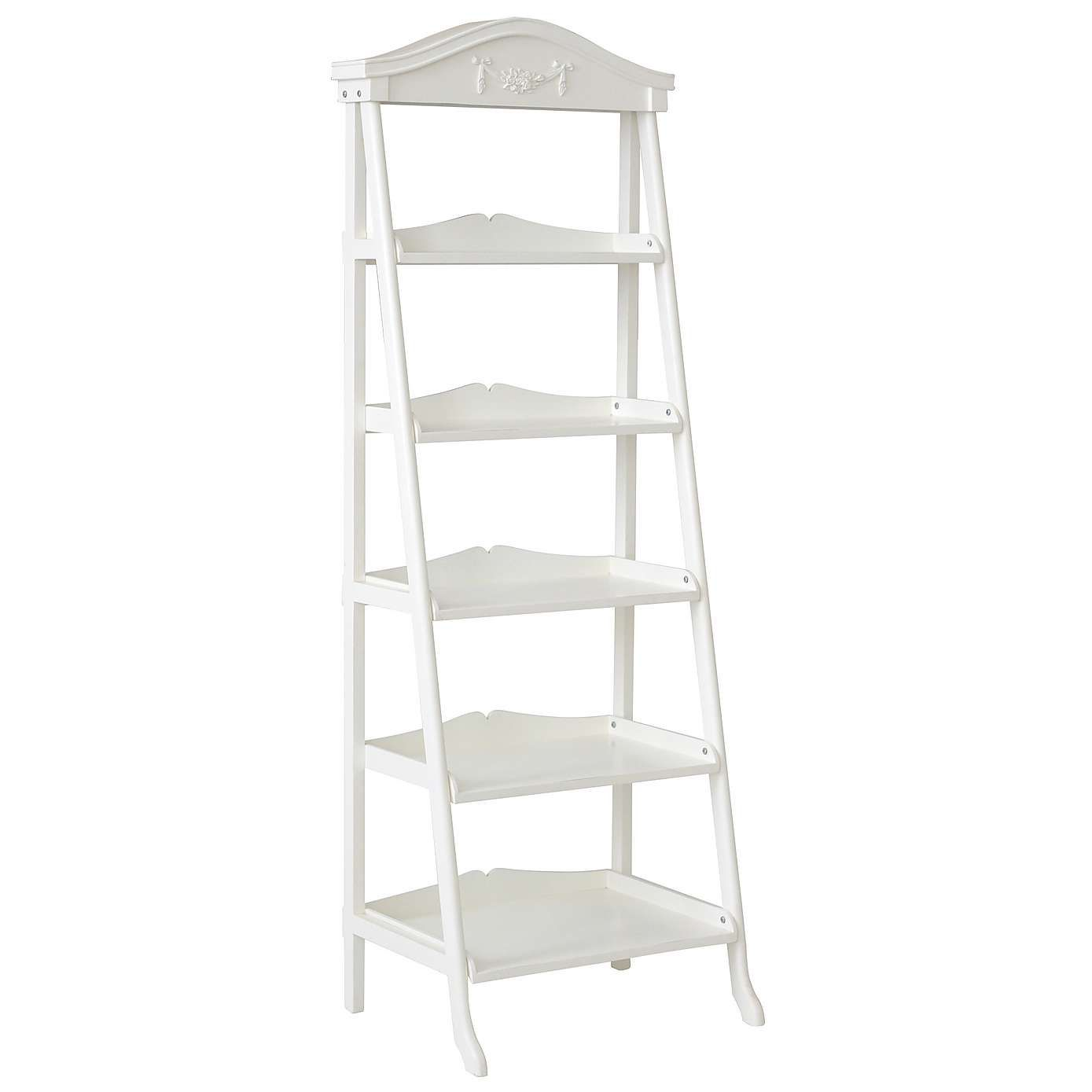 low cost 076f5 df579 Toulouse White Ladder Bookcase | Dunelm | Room in 2019 ...