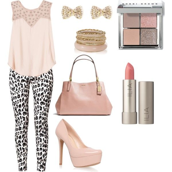 Soft pink look by jadalisse@polyvore