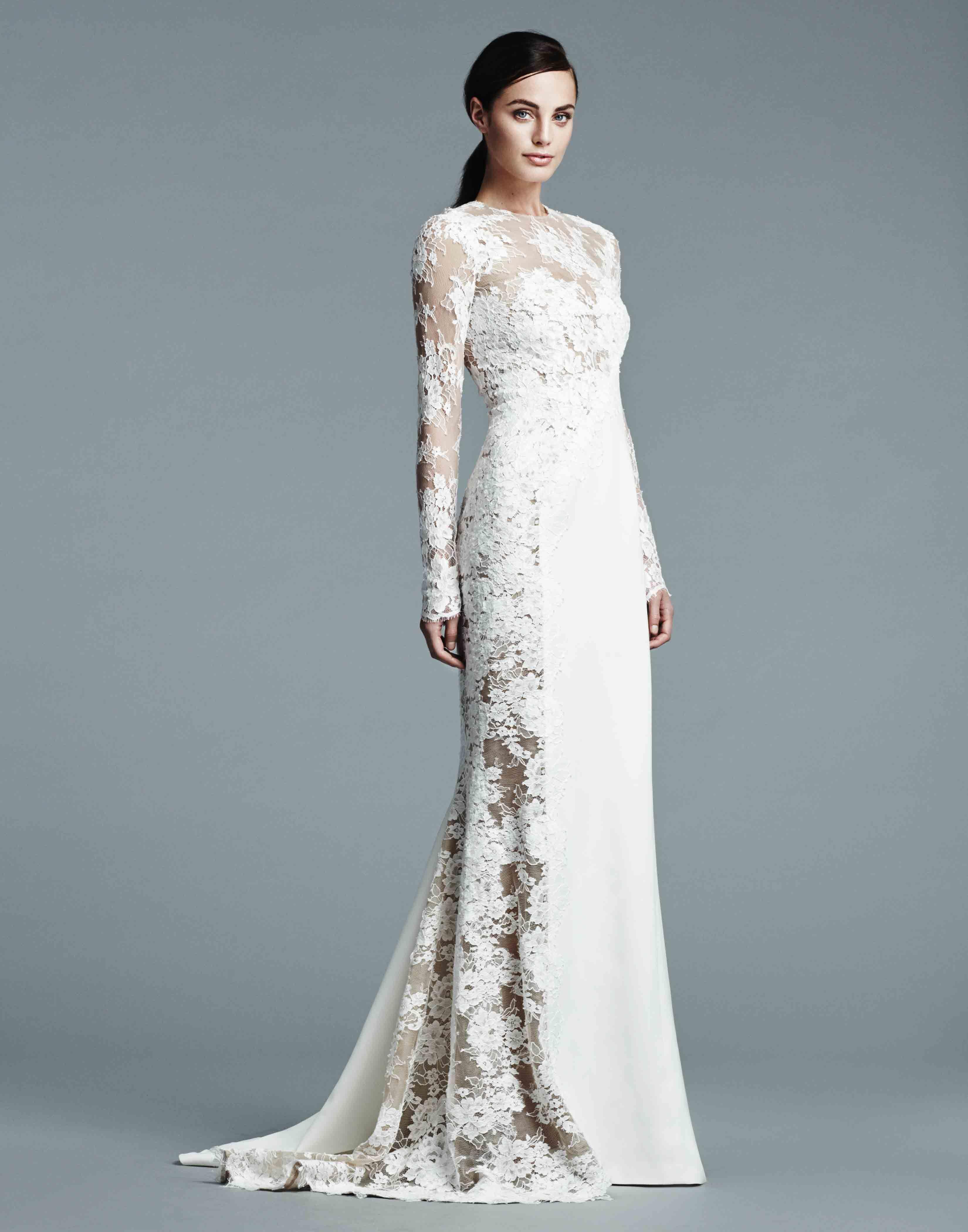 تصميمات فساتين زفاف من جى مندل Designs Wedding dresses from J ...