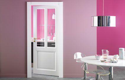 porte vitr e cloisons vitr es pinterest porte. Black Bedroom Furniture Sets. Home Design Ideas