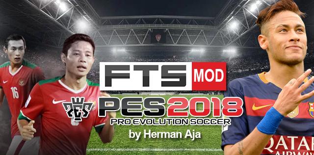 FTS Mod PES 2018 Apk Data OBB (by Herman Aja) | Jeux | Olahraga