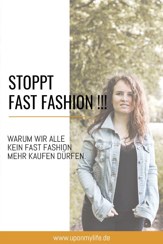 Warum wir alle kein Fast Fashion mehr kaufen dürfen ...