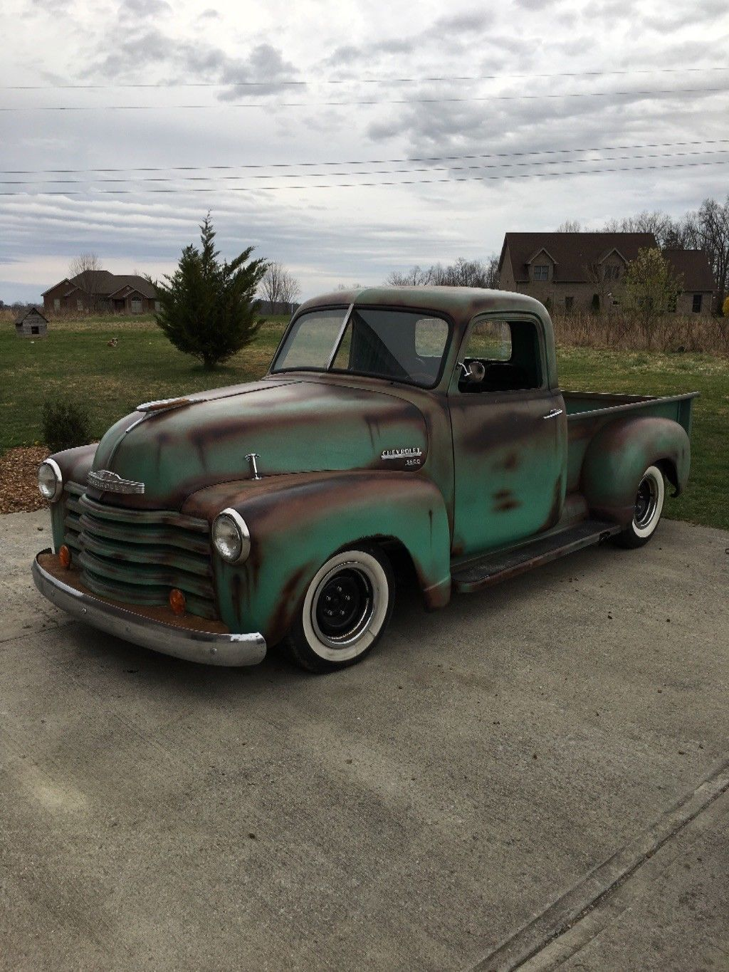 Rat Rod 1950 Chevrolet Pickup Custom Classic Chevy Trucks 1949 Truck Vin Number