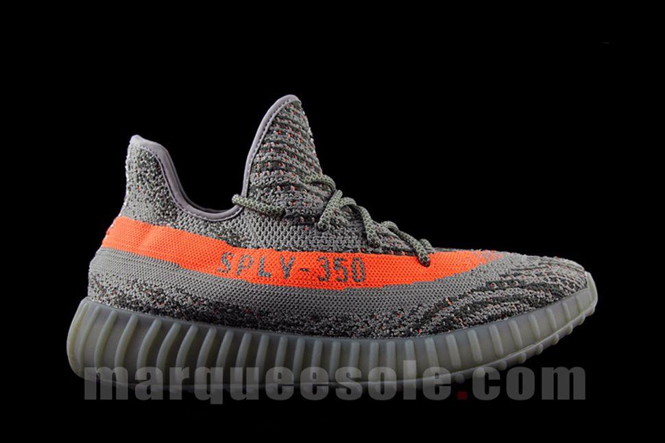 ba7d092da25 New Preview Images of the adidas Yeezy Boost SPLV-350 in Grey   Orange - EU  Kicks  Sneaker Magazine