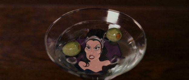 The Martini From Enchanted | Recipe icon, Disney movie night, Disney food