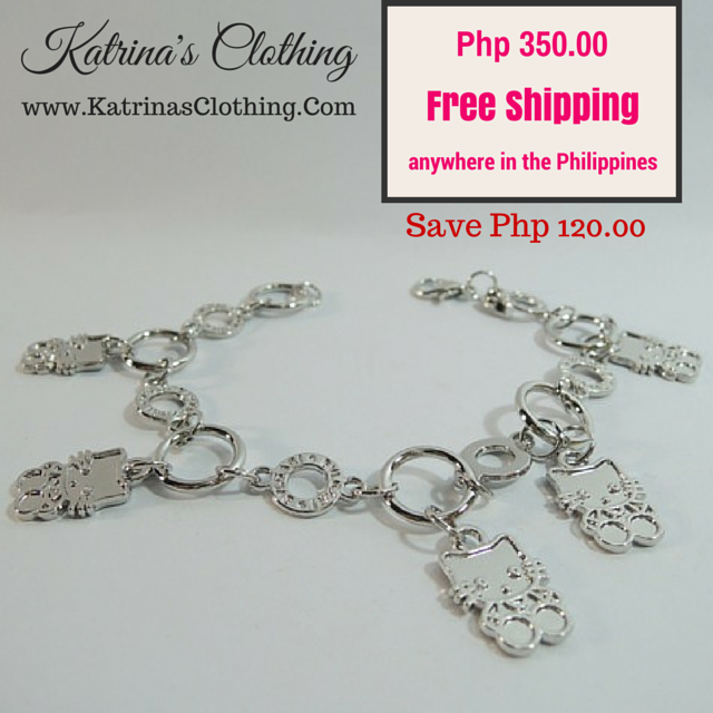 For sale: Silver Tone #Bracelet  More #Jewelry displayed at  www.facebook.com/KatrinasClothingShop  #shoppingPh #onlineShoppingph #onlinesellerPh #onlinestore #onlinestoreph #katrinasclothing #jewelryph #jewelries #katrinasclothingjewelry #accessories #accessoriesph #braceletph  For inquiries, message www.facebook.com/KatrinasClothingShop