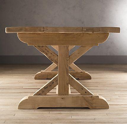 restoration hardware - farmhouse table