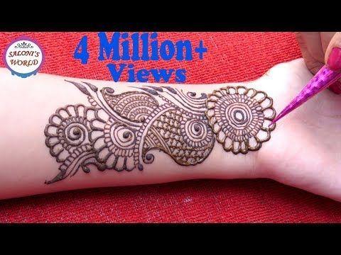 Mehndi Step By Step Designs : Learn easiest henna mehndi design step by mehendi designs for