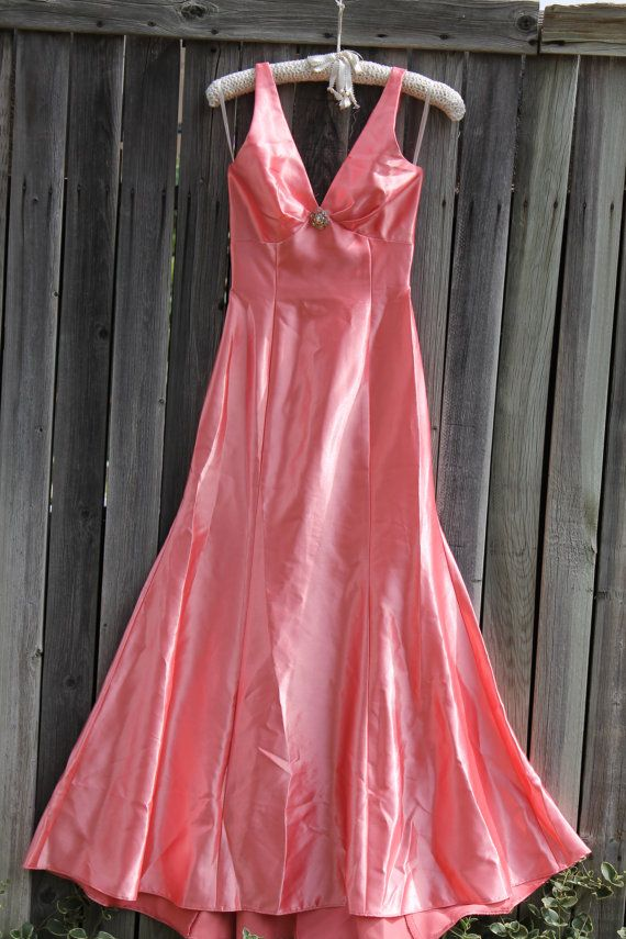 1990s Jessica McClintock for Gunne Sax womens formal PINK party ...
