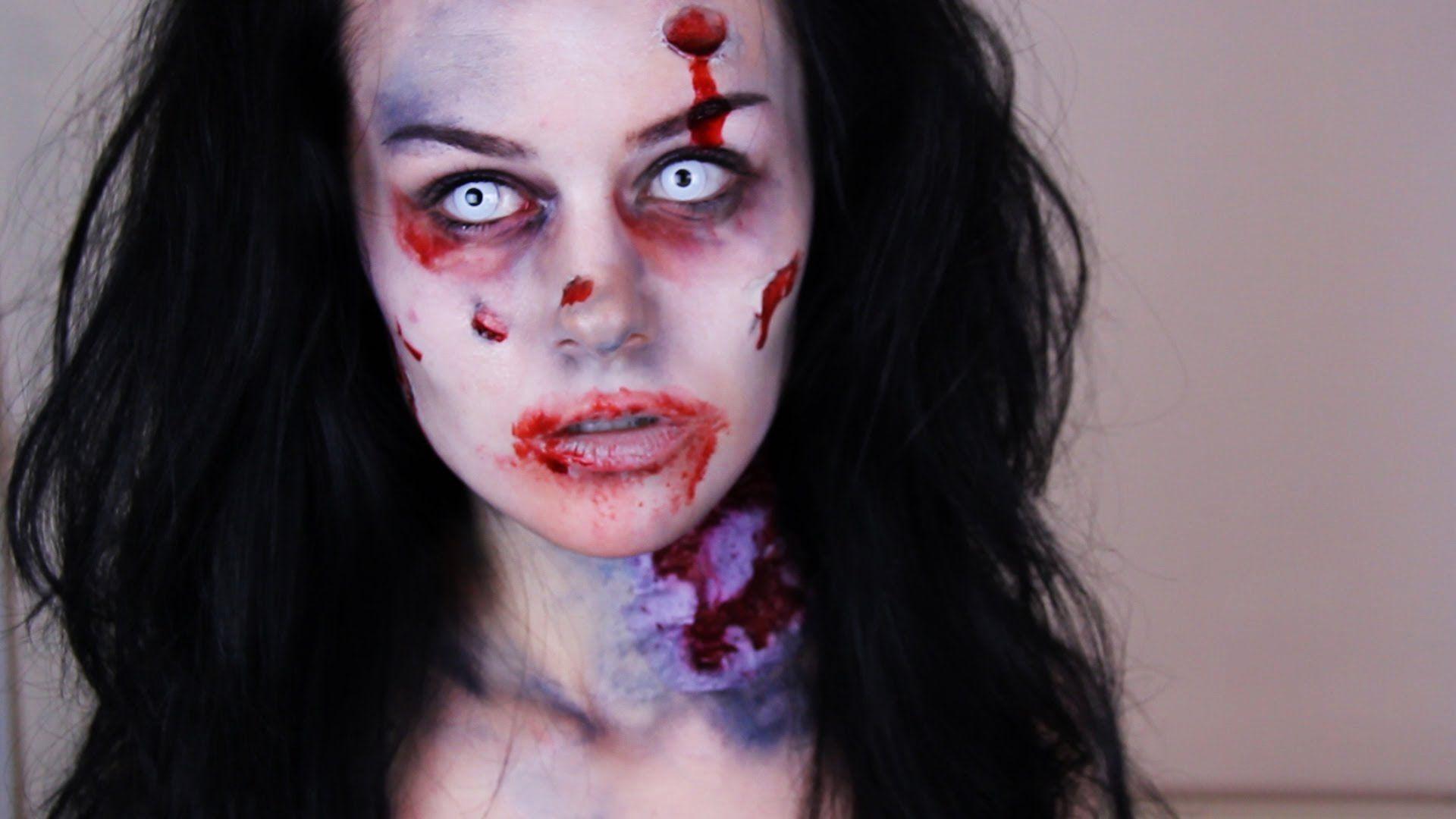 Zombie woman httpsgoogleblankml zombies pinterest halloween costumes baditri Image collections