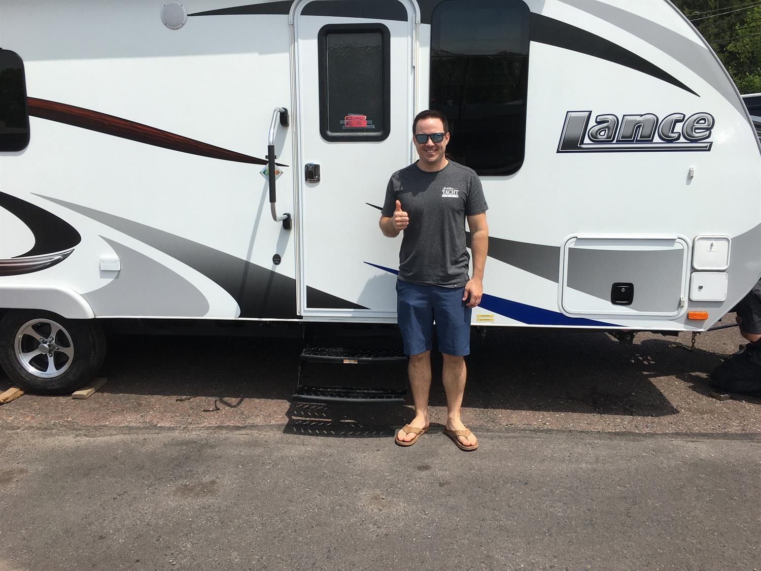 Congratulations And Best Wishes Gregg On The Purchase Of Your 2016 Lance 2285 We Sincerely Appreciate Your Business In 2020 Congratulations And Best Wishes Rv Papa