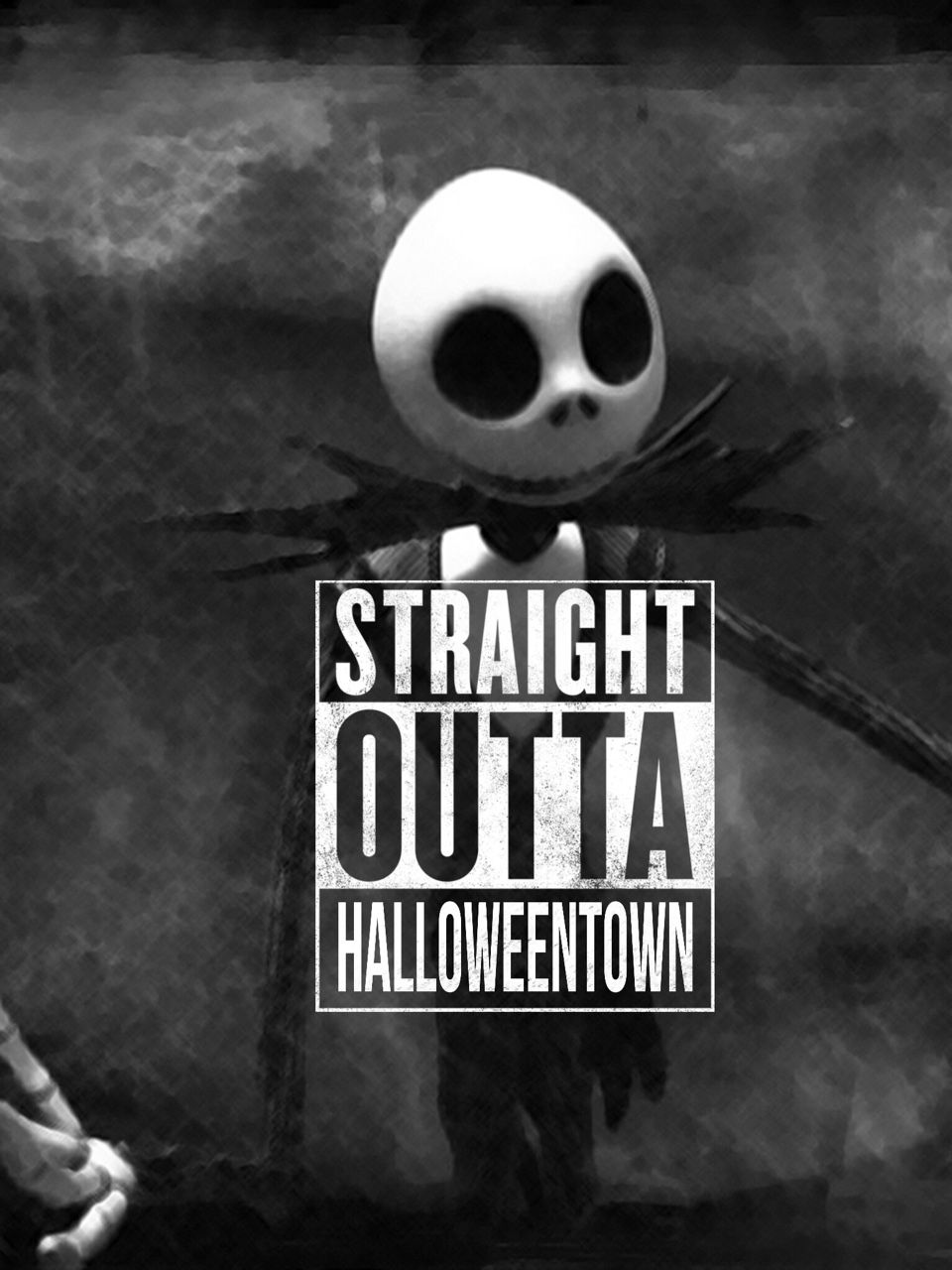 Straight Outta Holloweentown Nightmare before christmas