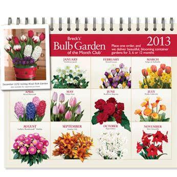 Breck S Bulb Garden Of The Month Club Flower Gift Garden Bulbs Gifts