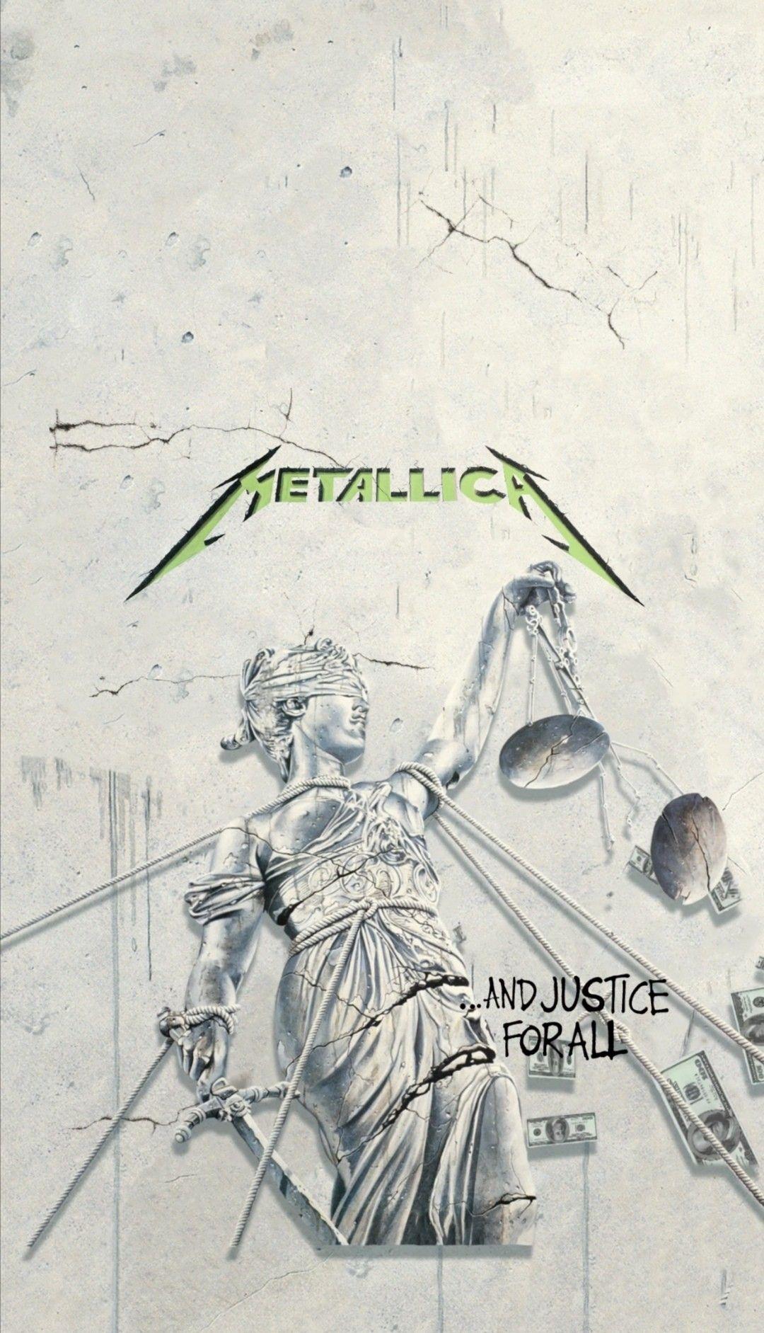 Metallica And Justice For All Wallpaper Fondo Iphone Posteres De