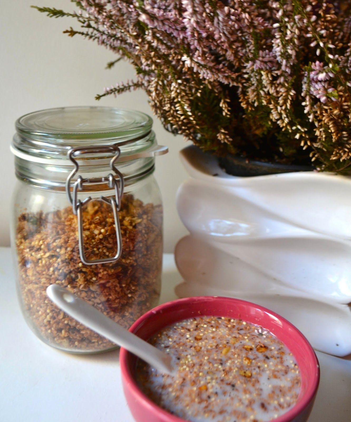 Granola chocolat à l'avoine et quinoa soufflé | CookissCool