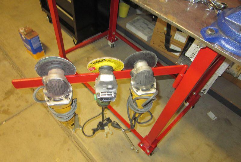Angle Grinder Holder Bing Images Welding Project