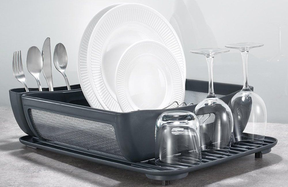 5 Best Dish Racks In 2020 Top Rated Utensil Drainers And Holders Fully Reviewed Sink Dish Rack Dish Racks Dishes