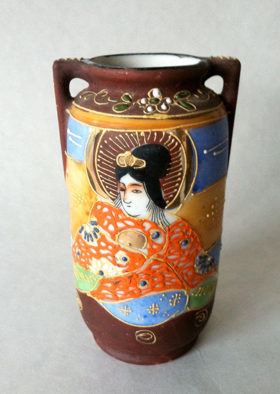 Japanese handpainted geisha porcelain vase made in japan japanese handpainted geisha porcelain vase made in japan reviewsmspy