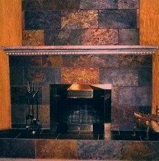 Rock Fireplace Makeover Latest Screen slate Stone Fireplace Tips Debris plus dust will go undiscovered to the lighter in weight patina with rock fireplaces in contrast to...