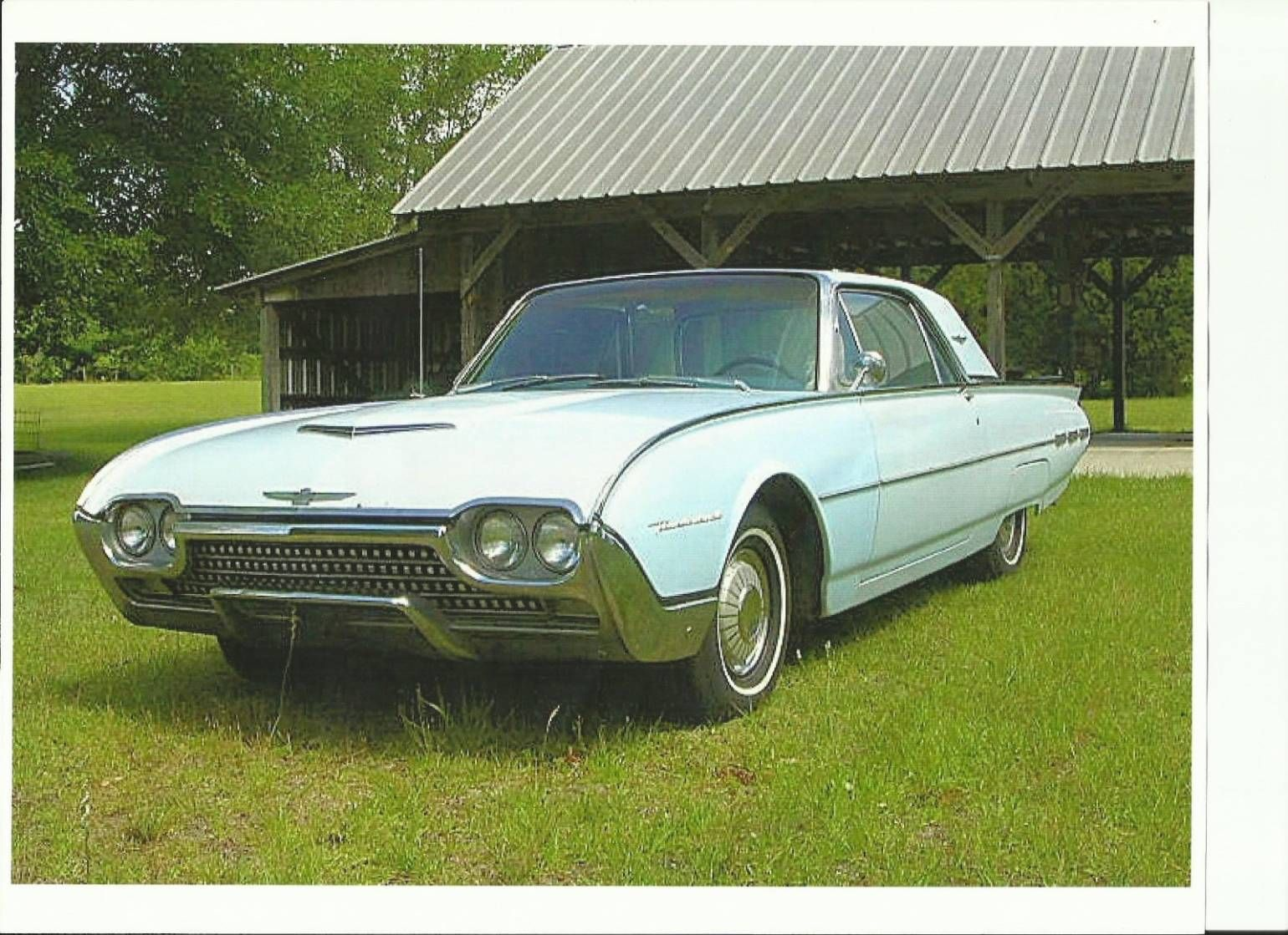 1962 Ford Thunderbird | Thunderbirds | Pinterest | Ford thunderbird ...